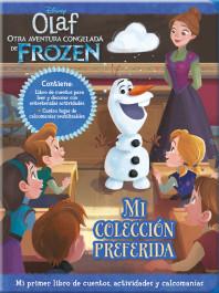 Olaf - otra aventura congelada de Frozen - Mi primer libro de cuentos, activida